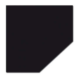 Staalplaat vijfhoek 2 mm zwart