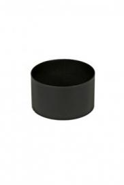 Koppelstuk zwart  / Ø 150 mm