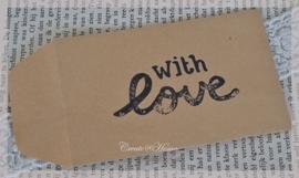 Kraft loonzakjes With love. Per 10