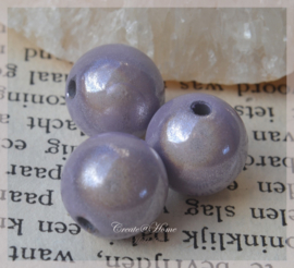 Miracle beads lila. Per 10