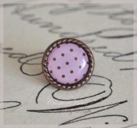 Brads splitpen koper roze 8 mm