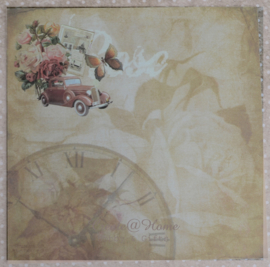 9 x romantische sheets Rose divers