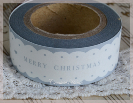 Masking tape Merry Christmas