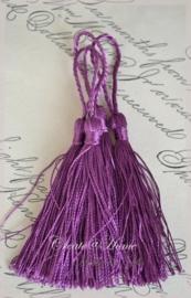 Kwastjes violet. Per 4