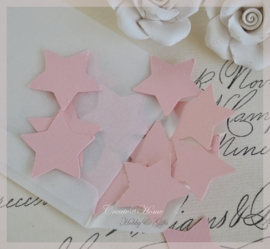 Pergamijn loonzakje gevuld met 50 sterretjes in vele kleurtjes