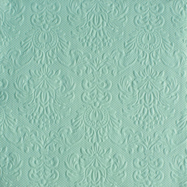 Servetten Barok Elegance pale aqua in 2 afm. Per 5