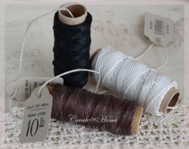 Spoeltjes met hennep touw