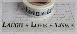 Masking tape Laugh Love Live
