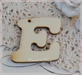 Houten letters in heel het alfabet