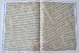 Precious Soft Paper, Music sheets