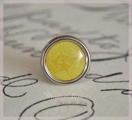 Brads splitpen zilver geel 8 mm. Per 5