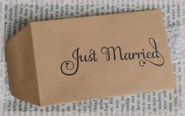 Kraft loonzakjes Just Married. Per 10