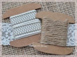 Kraft spoeltje met 1 mtr lint of touw