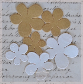 Stickers bloemen. Per setje