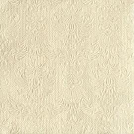 Servetten Barok Elegance cream in 2 afm. Per 5