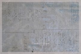 Scrappapier vintage blue. Per stuk