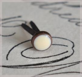 Brads splitpen koper crème 5 mm. Per 5