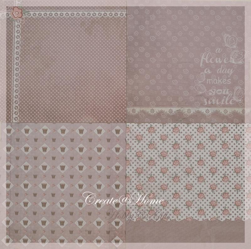 4 verschillende sheets, lila
