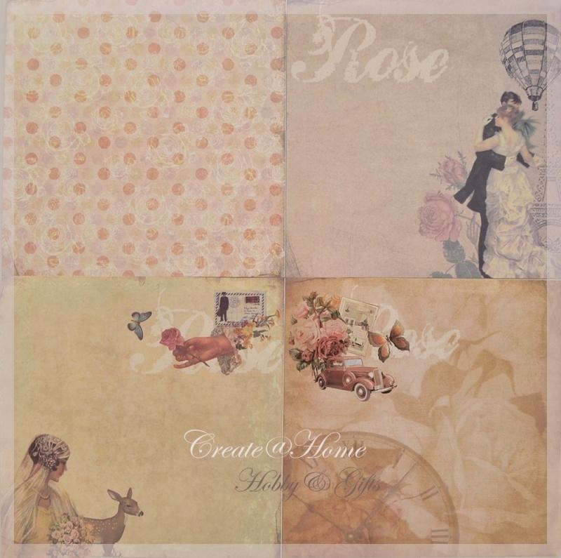 4 verschillende romantische sheets