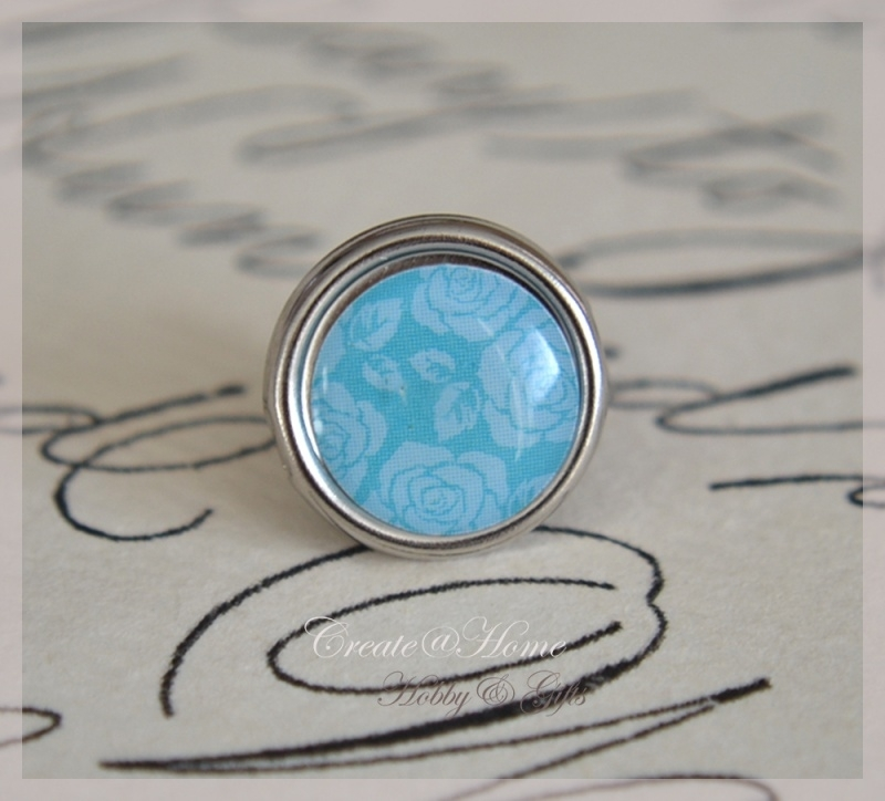 Brads splitpen zilver blauw 8 mm. Per 5