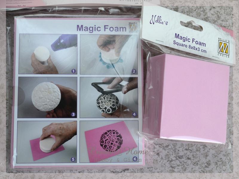Magic foam 2 stukken