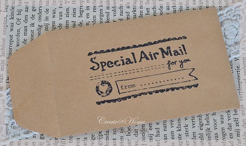 Kraft loonzakjes Air mail. Per 10