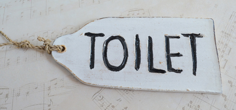Bordje Toilet