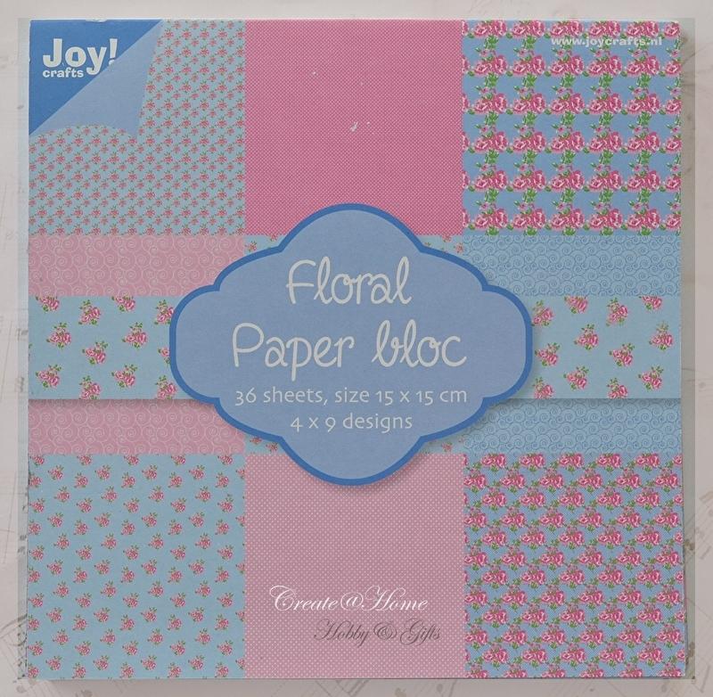 Joy Floral paper bloc 36 sheets