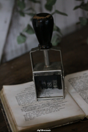Oude stempel