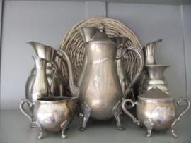 verzameling zilver