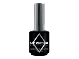 High shine top coat no cleanse 15ml Upvoted*