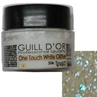 One touch white glitter 10gr