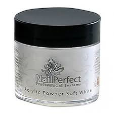 Acryl poeder soft white nail perfect 25gr