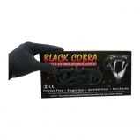 Handschoenen latex black cobra 100pcs