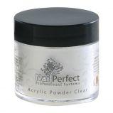 Acryl poeder clear nail perfect 25gr