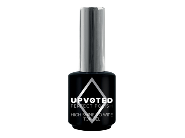 High shine top coat no cleanse 15ml Upvoted