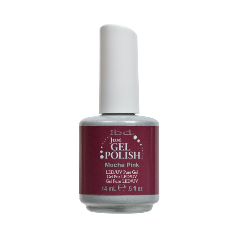 IBD Just Gel Polish Mocha Pink 14ml