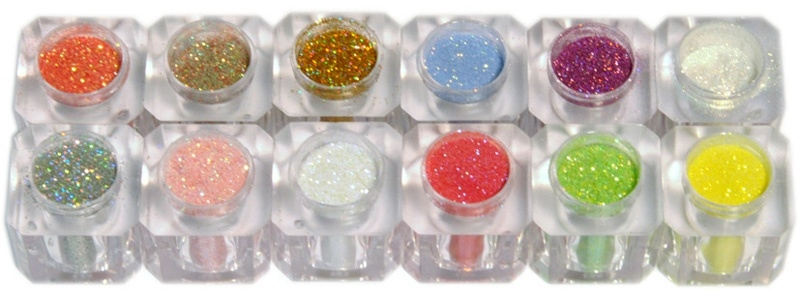 Nail shadow guill d'or glitter powder