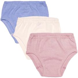 Cosilana wol/zijden/katoen slip roze 104-140