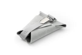 dusq pacifier cord - cloud grey