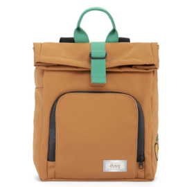 dusq mini bag | canvas-sunset cognac