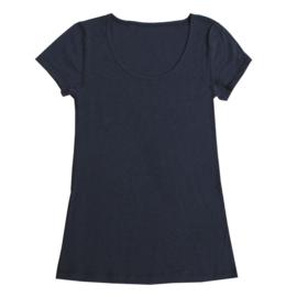 Joha dames shirt wol, marine