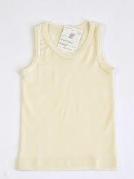 Engel wol/zijden hemd, natuur 92-176