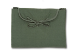 dusq changing mat - marram green