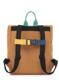 dusq mini bag | canvas-sunset cognac