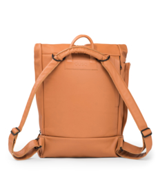 dusq family bag | leather-sunset cognac