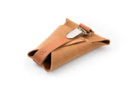 dusq pacifier cord - sunset cognac