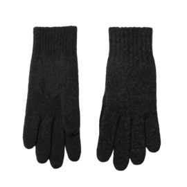 Joha heren handschoenen wol, antraciet