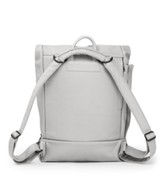 dusq family bag | leather-cloud grey