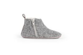 dusq first step shoes | wool - misty grey